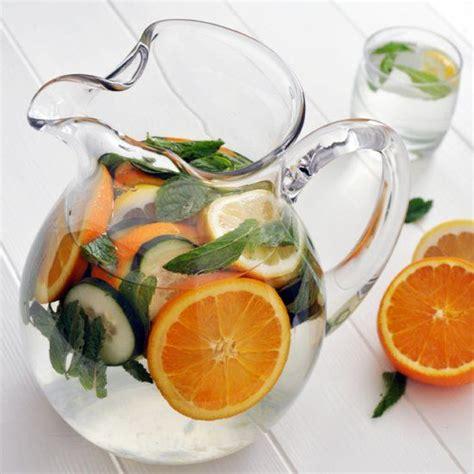 Detox Fruit Asian by Refreshing Detox Water Infused With Oranges Lemon