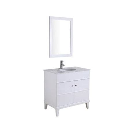 34 Inch Bathroom Vanity Khloe 34 Inch Single Sink Vanity Set Marble Bathroom Countertops