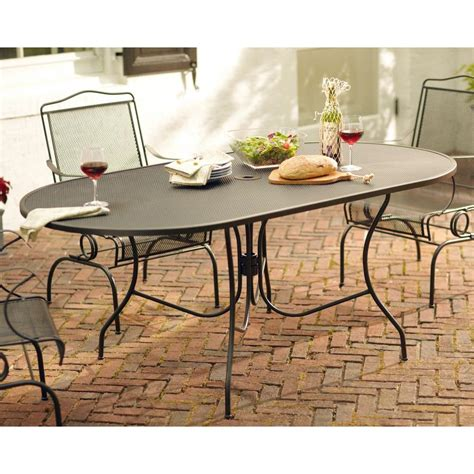 wrought iron patio furniture at home depot home outdoor
