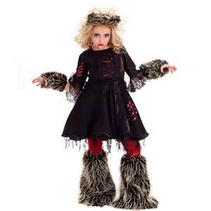 wolf halloween costume for girls howlette werewolf costume girls costumes kids