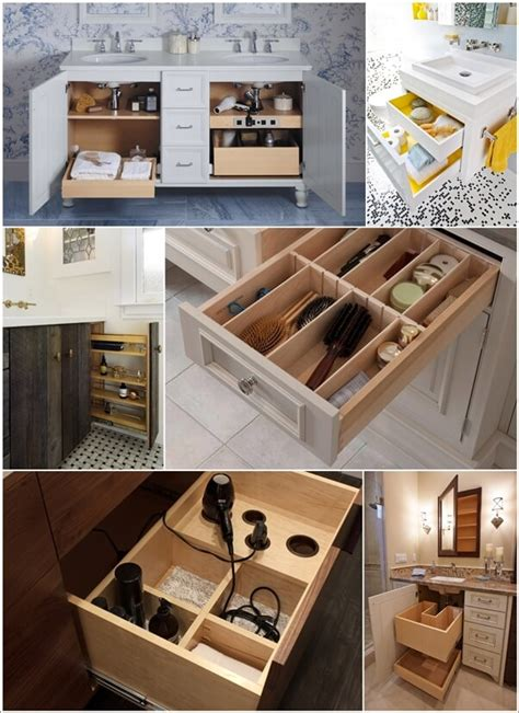 Clever Bathroom Storage Ideas Clever Bathroom Vanity Storage Ideas