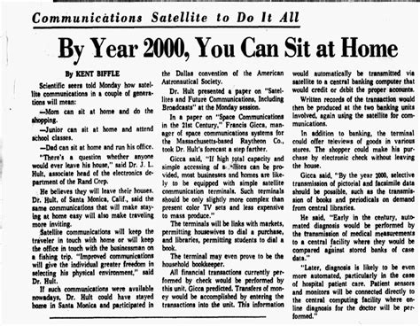 productivity killer by year 2000 you can sit at home