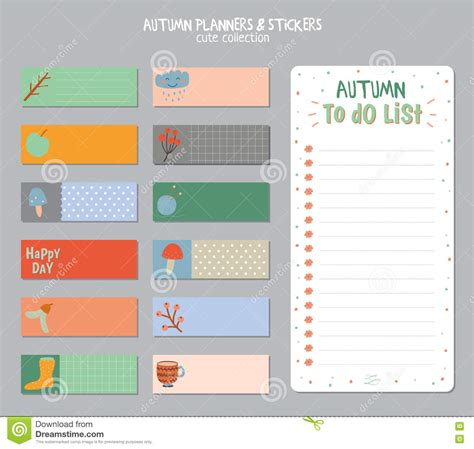 to do calendar template daily calendar and to do list template stock vector