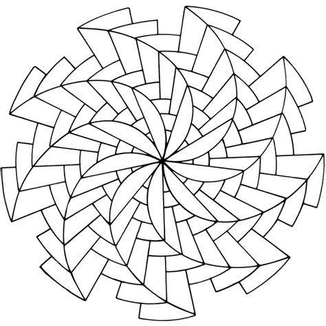 pinwheel designs coloring pages free coloring pages of op art sheets