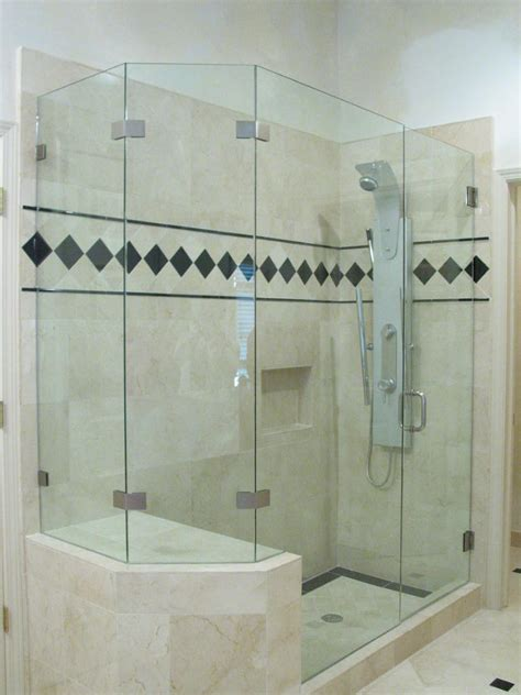 cost of frameless glass shower doors how much do frameless doors for shower cost useful
