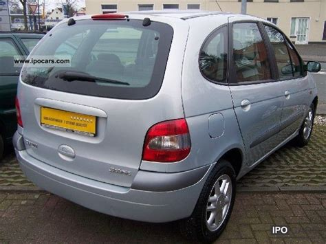 renault scenic 2002 specifications 2002 renault scenic 1 6 16v expression car photo and specs