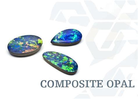 composite opal opal house jewellery types of opal composite opal