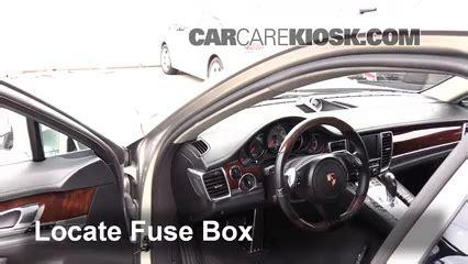 Interior Fuse Box Location 2010 2016 Porsche Panamera