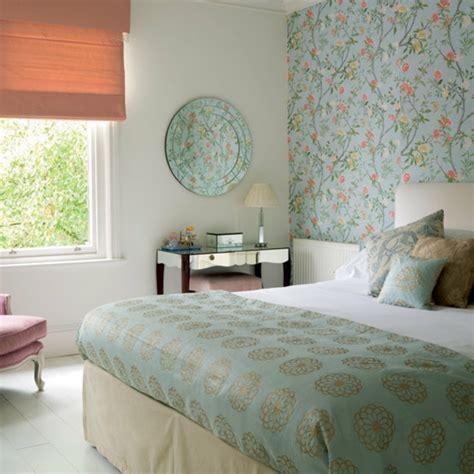 tapeten landhausstil schlafzimmer schlafzimmer maritim idee