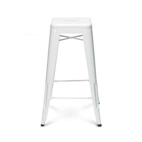 White Stool by 65cm White Powder Coated Stool Large Gifts Price 163 59
