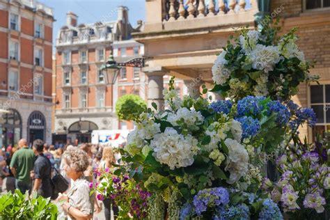 London Uk 22 July 2014 Flower Shop In Covent Garden Flower Shop Covent Garden