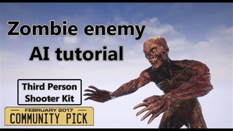 zombie ai tutorial unity third person shooter kit zombie enemy ai tutorial youtube