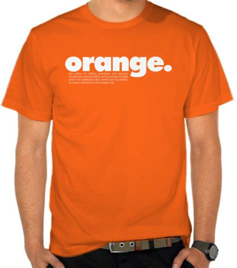 Kaos Dictionary jual kaos orange dictionary satubaju