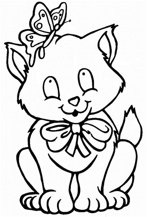coloring pages of cartoon cats cat coloring page animals town animals color sheet cat