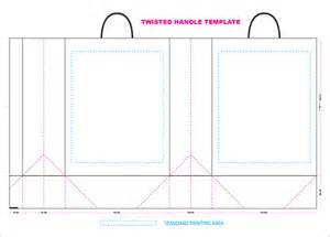 paperbag template paper bag template illustrator www imgkid the