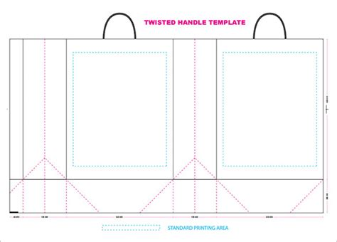 bag templates free 18 awsome paper bag templates psd mockups free
