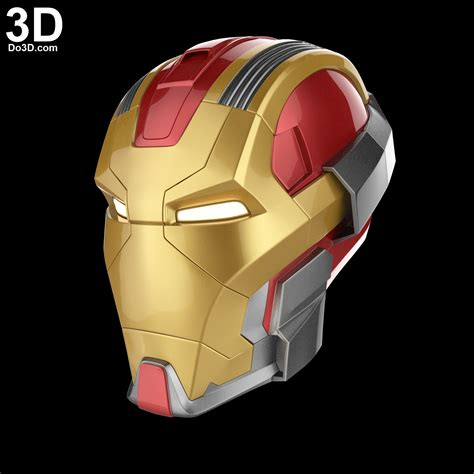 iron man helmet design 3d printable model iron man mark xvii heartbreaker mk 17