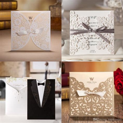 wholesale unique wedding invitations cards high quality
