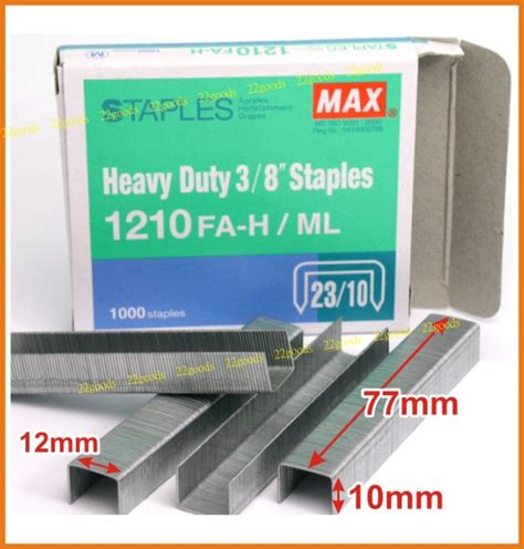 Bantex Staples No 10 9360 00 max refil staples 1210 23 10