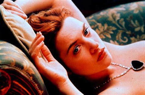 film titanic hot pic kate winslet on nude scene in titanic it s still