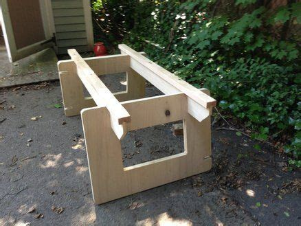 knock down picnic plans knock down work station home pinterest work stations