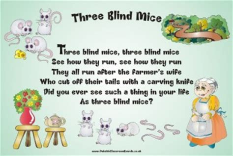 3 Blind Mice Story Price List Amp Shop Learning Off The Wall