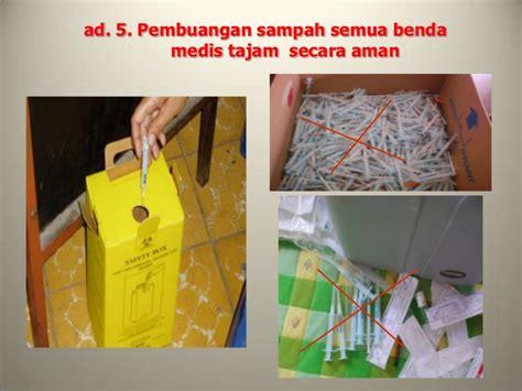 Jarum Pentul Newey Box 24 Kotak prosedur penyuntikan imunisasi