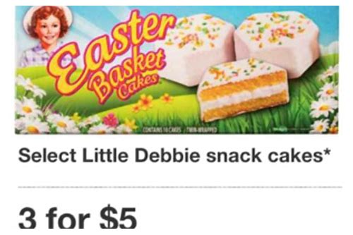 printable coupons for little debbie snack cakes