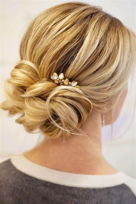 lovely wedding bun hairstyles  bun wedding hair