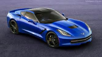 corvette stingray blue wallpaper