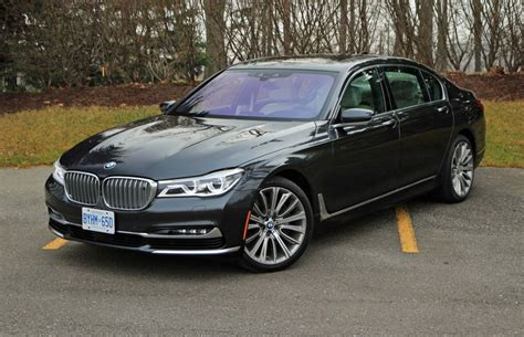 2017 bmw 750li car review 2016 bmw 750li xdrive driving