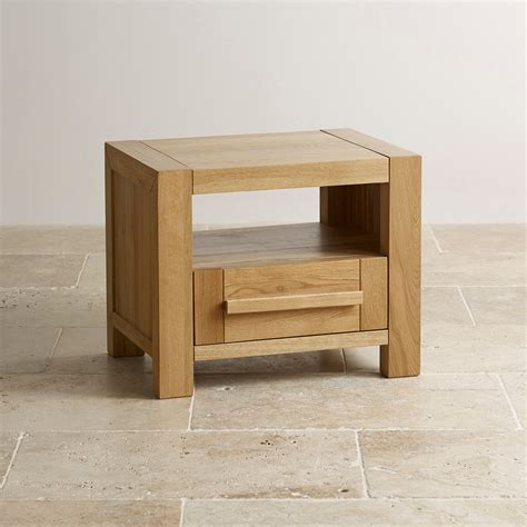 Dining Room Sets For Less by Fresco Natural Bedside Table In Solid Oak Oak Furniture Land