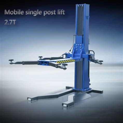 Single Post Car Lift Hidrolik Mobil Ikame mobile single post car lift movable hydraulic single post