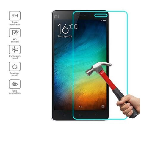 Tyrex Tempered Glass For Xiaomi Mi3 Screen Protector Pelind T0210 tempered glass screen protector for xiaomi mi2 mi3 mi4 mi4c mi4i mi4s mi5 xiaomi mi