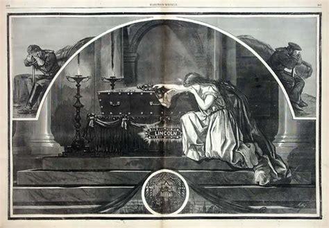 abraham lincoln in coffin lincoln coffin photo