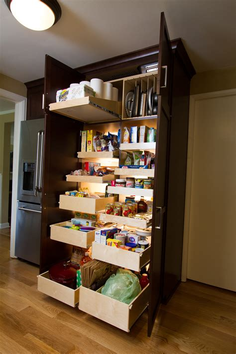 Kitchen Cabinet Roll Out Drawers by Transform Your Powell Kitchen Pantry With Pull Out Shelves