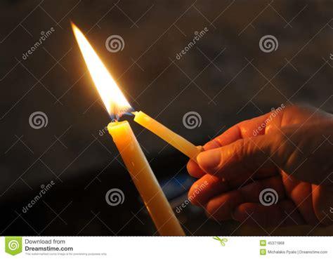 candle lighting times cleveland lighting an ear candle stock image cartoondealer com 712861