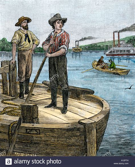 abraham lincoln work history abraham lincoln working on an ohio river keelboat