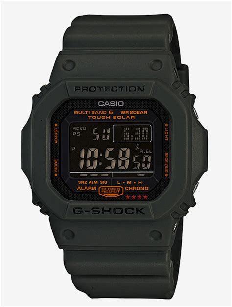 Casio Army g shock army green