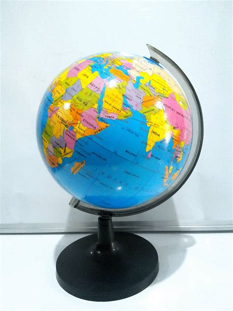 Bola Dunia 18 2 Cm Bola Globe Meja jual bola dunia globe meja 18 2cm murah grosir import