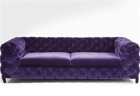 velvet sofa for your improved living room environment
