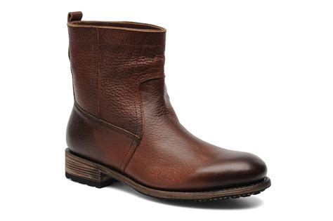 fireman boots blackstone fireman boot ankle boots in brown at sarenza co