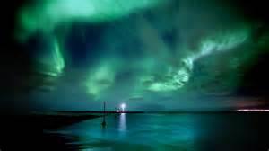Coast Lights by Auroras The Coast Of Iceland Northern Lights