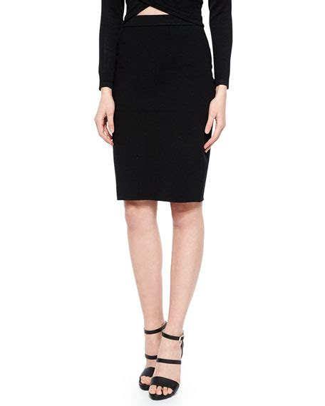 stretch knit pencil skirt jonathan simkhai stretch knit pencil skirt