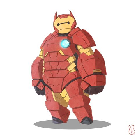 baymax armor wallpaper iron baymax by harousel on deviantart