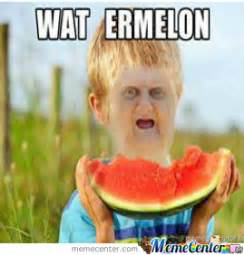 Watermelon Meme - wat watermelon by galaxylurker meme center