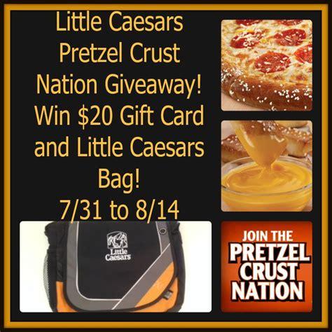 Little Caesars Gift Card - little caesars pretzel crust nation giveaway ends 8 14 littlecaesars