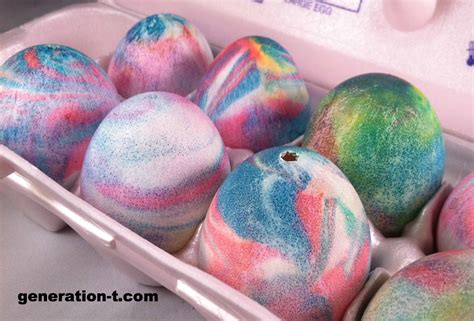 dyed easter eggs recipe dishmaps