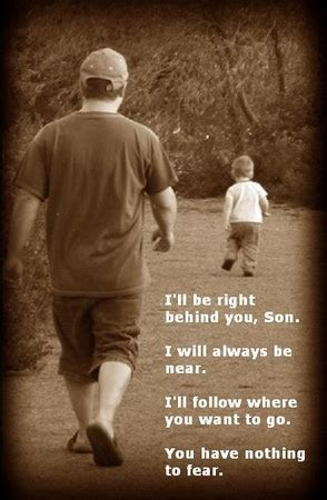dad encourages son to be a man while getting shots father son poem abbajean s photos flickr