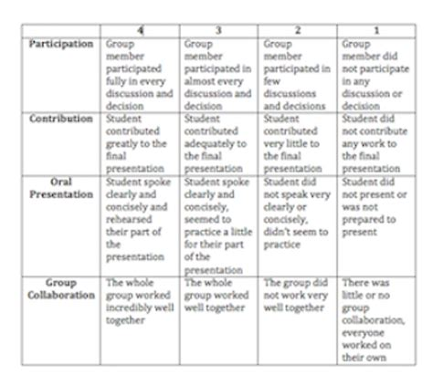 project rubric template presentation rubric template pet land info